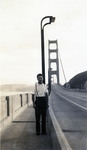 Ernest (Ernie) Arnone at San Francisco Bridge
