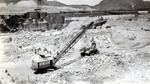 Grand Coulee Dam Construction, Behind Coffer Dam