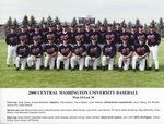 2000 Central Washington University Baseball by Central Washington University