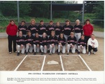1994 Central Washington University Softball