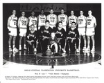 1992-93 Central Washington University Men's Basketball