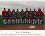 1993 Central Washington University Softball