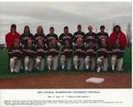 1993 Central Washington University Softball