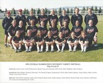 1999 CENTRAL WASHINGTON UNIVERSITY VARSITY SOFTBALL