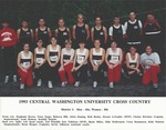 1993 CENTRAL WASHINGTON UNIVERSITY CROSS COUNTRY