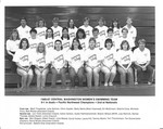 1986-87 Central Washington University Women's Swimming Team