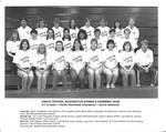 1986-87 Central Washington University Women's Swimming Team
