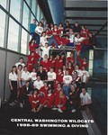 1988-89 Central Washington Wildcats Swimming and Diving