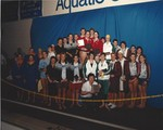 1987 CWU Swimming at Nationals 1st Place