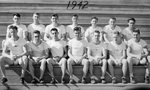 1942 Central Washington College of Education Track and Field by Central Washington University