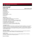 February 6, 2009 - Board of Trustees Meeting Minutes, Committee of the Whole