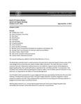 October 6-7, 2011 - Board of Trustees Meeting Minutes, Regular and Special Meetings
