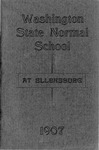 Washington State Normal School at Ellensburg. Catalogue for 1906-1907