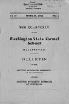 The Quarterly of the Washington State Normal School Sixth Summer Session