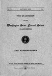 The Quarterly of the Washington State Normal School, January