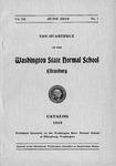 The Quarterly of the Washington State Normal School Ellensburg. Catalog 1919