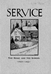 Washington State Normal School Ellensburg Extension Service [Service: The Home and the School]