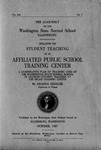 Bulletin on Student Teaching in an Affiliated Public School