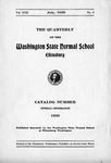 The Quarterly The Washington State Normal School