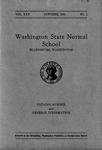 Washington State Normal School Catalog