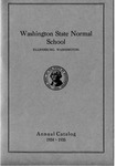Washington State Normal School Annual Catalog
