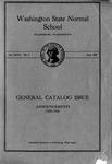 Washington State Normal School Annual Catalog