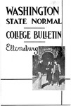 Washington State Normal School College Bulletin