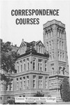 Central Washington State College, Correspondence Courses