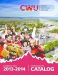 Central Washington University 2013-2014 Undergraduate Catalog