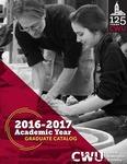 Central Washington University 2016-2017 Graduate Catalog