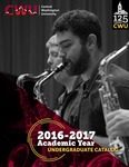 Central Washington University 2016-2017 Undergraduate Catalog