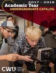 Central Washington University 2017-2018 Undergraduate Catalog