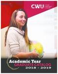 Central Washington University 2018-2019 Graduate Catalog