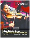 Central Washington University 2018-2019 Undergraduate Catalog