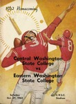 Central Washington State College vs Eastern Washington State College by Central Washington University