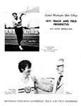 1971 Track and Field Prospectus by Central Washington University Athletics