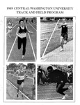1989 Central Washington University Track and Field Program by Central Washington University Athletics