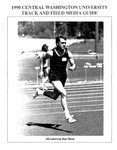 1990 Central Washington University Track and Field Media Guide