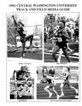 1992 Central Washington University Track and Field Media Guide