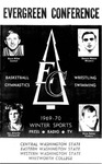 1969-1970 Evergreen Conference Winter Sports--Basketball, Gymnastics, Wrestling, Swimming