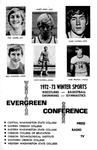 1972-1973 Evergreen Conference Winter Sports--Wrestling, Basketball, Swimming, Gymnastics by Evergreen Conference