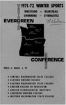 1971-1972 Evergreen Conference Winter Sports--Wrestling, Basketball, Swimming, Gymnastics by Evergreen Conference