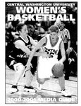 2000-2001 Central Washington University Women's Basketball Media Guide