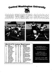 2000 Central Washington University Women's Soccer