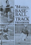 1984 Central Washington University Wildcat Baseball and Track Pressbook