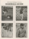 1985 Central Washington University Baseball Guide