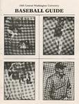 1985 Central Washington University Baseball Guide