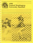 1986 Central Washington University Baseball