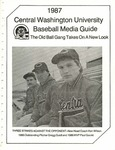 1987 Central Washington University Baseball Media Guide