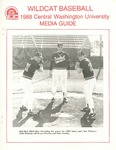1988 Central Washington University Wildcat Baseball Media Guide